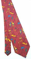 SHAKESPEARE PLAYS Mens 100% Silk Tie by Fox & Chave Made in England