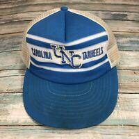 Vintage UNC North Carolina Tarheels Snapback Mesh Trucker Foam Hat Adjustable