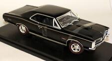 Nex 1/18 Scale - 19856W 1966 Pontiac GTO Black Diecast Model Car