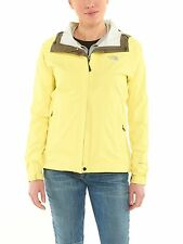 North Face Venture Womens A57Y-YS7 Stinger Yellow Waterproof Rain Jacket Size S