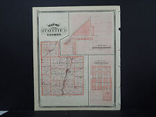 Indiana Maps, 1876 Fayette County N2#18