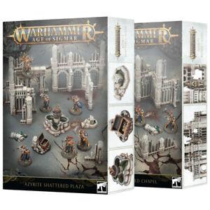 Warhammer Age of Sigmar Scenery Azyrite Ruined Buildings Tabletop Terrain Kits
