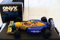 ONYX 079 079B 079C Benetton B190 F1 model race cars A Nannini / Moreno 1:43rd