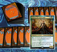 mtg BLUE GREEN SIMIC COMMANDER EDH DECK Magic the Gathering vorel rare cards