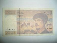 BANCONOTA 20 FRANCHI FRANCIA 1997 SPL