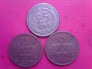 SWEDEN     5   ORE   1972  1973    25  ORE   1941    APR10