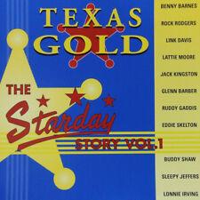 STARDAY RECORDS STORY CD Texas Gold Volume 1 CD NEW 1950s Rockabilly Hillbilly