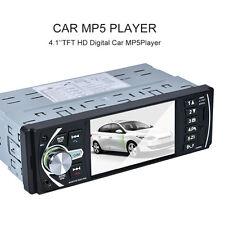 1x FM Radio Video Bluetooth Car MP5 Player Hands-free Rear Camera Digital Clock