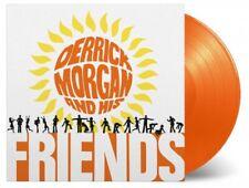 DERRICK MORGAN DERRICK MORGAN & HIS FRIENDS  ltd orange vinyl lp MOVLP2613