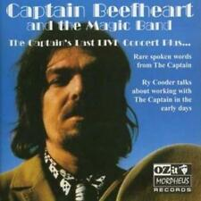 Captain Beefheart and The Magic Band : The Captain's Last Live Concert Plus CD