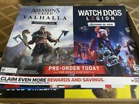 Watch Dogs Legion, Assassin's Creed,  Store Display Poster.. Amazing poster
