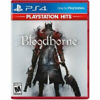Bloodborne PlayStation® Hits (Sony PlayStation 4, 2015) PS4 NEW