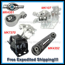 D010 For 08-15 Nissan Rogue/ 14-15 Rogue Select, 2WD 2.5L Motor & Trans Mount