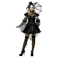 Adult Women's Victorian Doll Gothic Misa Lolita Halloween Cosplay Costume Dress