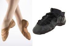 NEW Capezio Dance Shoes Closeout Fizzion or Freeform Tan Black Jazz Ballet Moder