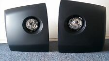 LH+RH FRONT BUMPER EXTENSION COVERS for NISSAN TITAN 04 05 06 07 WITH FOG Lights