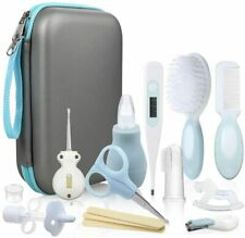 Lictin Baby Grooming set Kit Newborn scissors nail clippers comb nasal aspirator