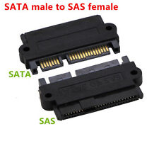 SAS 22 Pin to SATA 22PIN 7+15 Hard Disk Drive Raid Adapter with 15 Pin Power