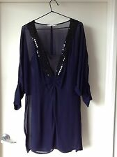 Blessed Are The Meek - Navy And Black Dress - Size 12