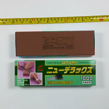 JAPAN made Sharpener  Stone LOBSTER DELUXE WATER STONE IG-420 NANIWA-#1000