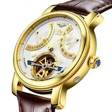 New GUANQIN Luxury Mechanical Automatic Men's Watch Sapphire Crystal Dial