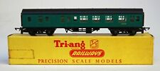 TRI-ANG TRIANG TT GAUGE  T133 SOUTHERN REGION  MAIN LINE BRAKE 2nd COACH BOXED