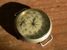 rarissime ancienne Montre boussole instrument navigation XIXe compass watch 19th