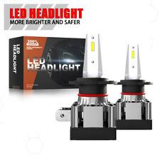 H7 LED Headlight Bulbs Conversion Kit Hi/Lo Beam 2400LM 6000K Bright Lamp Set