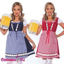 Deluxe Ladies Beer Maid Wench Costume Oktoberfest Octoberfest German Fancy Dress
