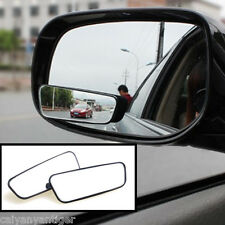 2pcs HD Side Mirror Rearview Car Auxiliary Mirror Adjustable Blind Spot Mirror