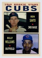 Ron Santo + Billy Williams Chicago Cubs / MC rookies #7 / MINT cond FREE SHIP