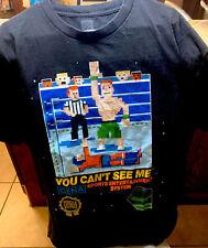 Retro WWE John Cena 8-Bit T Shirt Sports Entertainment System Cenation