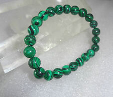 Malachite Stone Bracelet 8 MM (Kidney Stone ) AAAAA +++++