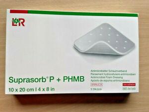 Suprasorb P + PHMB, 10 x 20cm, 5 Stck, REF 34543, Neuware!