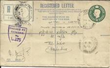 Palestine -Military Registered Postal Envelope HG:IC2-British Forces-FIELD POST
