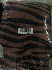 Victoria's Secret Pinksherpa Blanket Peach Zebra