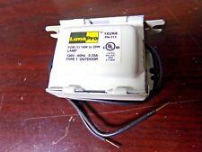 LUMAPRO Magnetic Ballast, 20 Max. Lamp Watts, 120 V, Preheat Start (EF)