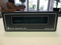 Vorne Industries 2005C-L-120-C Single Line Display