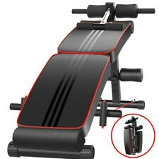 ADJUSTABLE DECLINE INCLINE HOME GYM WEIGHT BENCH SIT UP ABDOMINAL AB FITNESS US