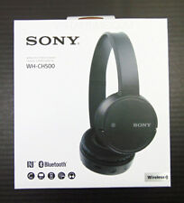Sony WH-CH500 Stamina Wireless On-Ear Bluetooth Headphones WHCH500/B Black