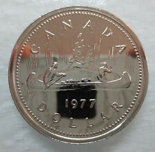 1977 CANADA VOYAGEUR DOLLAR PROOF-LIKE COIN - S
