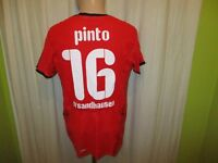 "SV Sandhausen Puma Ausweich Matchworn Trikot 2008/09 ""nippon"" + Nr.16 Pinto Gr.M"