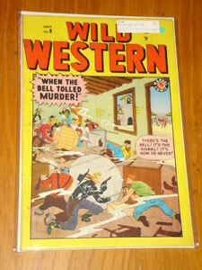 WILD WESTERN #8 FN (6.0) MARVEL COMICS JULY 1949 <
