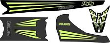 POLARIS RUSH ASSAULT 120 136 144 155 163 HOOD TANK & TOP TUNNEL DECAL lime green