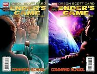 Enders Game Command School #3-4 (2009-2010) Marvel Comics - 2 Comics