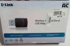 D-Link Wireless AC Dual Band USB Wi-Fi Network Adapter (DWA-171) -NEW