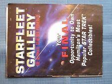 Star Trek Starfleet Gallery The Ultimate Star Trek Promenade 1998 Hamilton'S Col