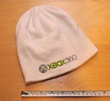 Xbox 360 White WINTER HAT Toque Beanie Skull Cap Ski Microsoft Retro Video Games
