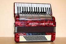 Weltmeister Consona 96 Bass Cassotto LMMH Accordion Akkordeon Fisarmonica + Case