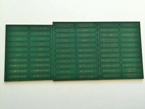 'NEW' General d'Armee Status Markers - Russian Green